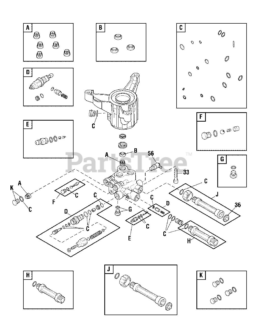 Troy-Bilt 020568-02 - Troy-Bilt 2,800 PSI Pressure Washer ...