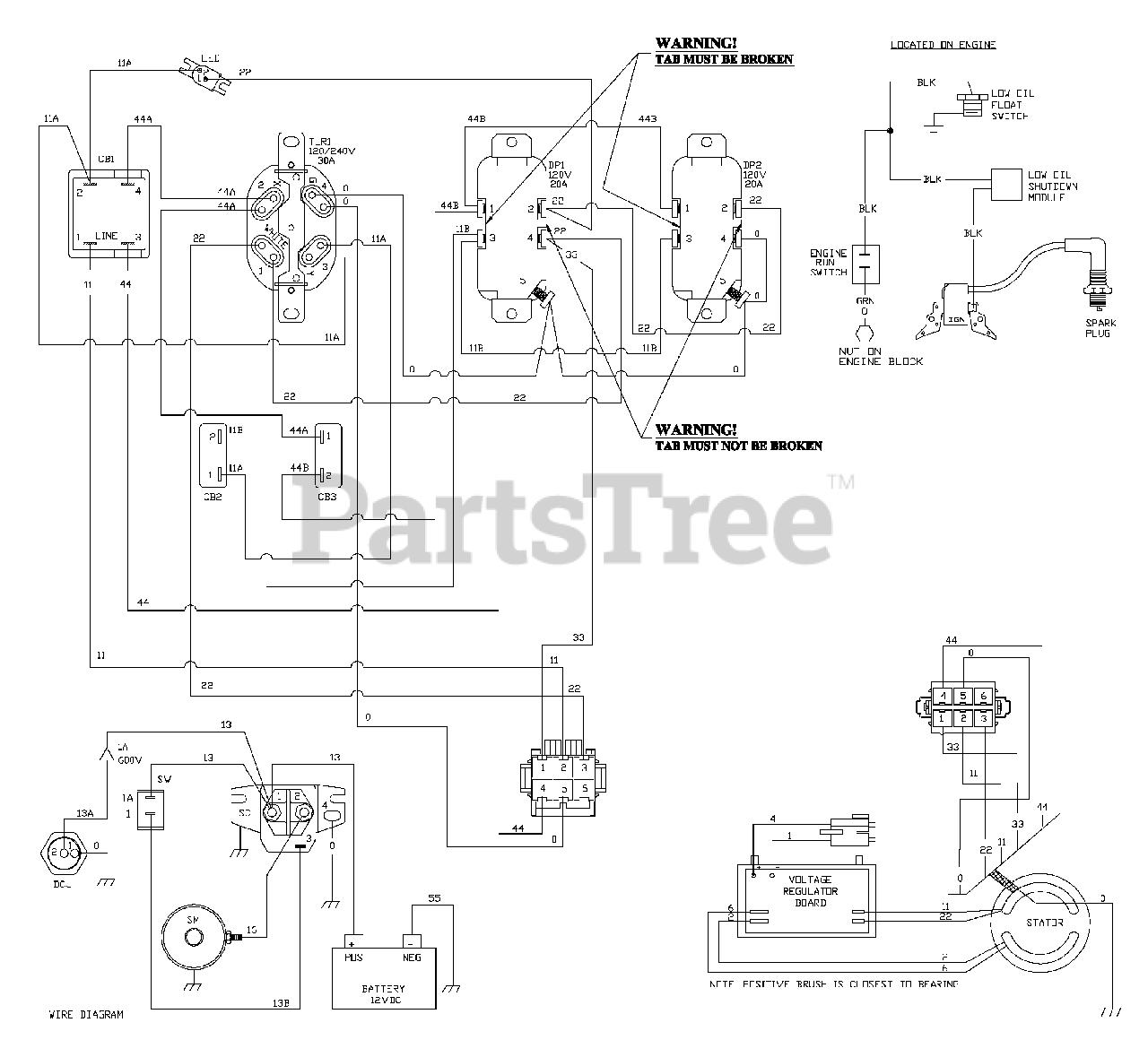 troy bilt engine wiring diagram troy bilt 030247 0 troy bilt 8 000 watt portable generator  troy bilt 8 000 watt portable generator