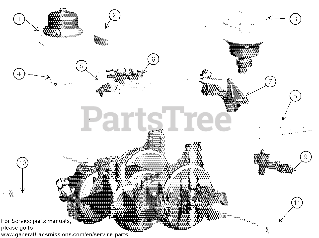 Ariens RS800-SD-P (21548469) - Ariens General Transmission Transmission -  580486201 Parts Lookup with Diagrams | PartsTreePartsTree