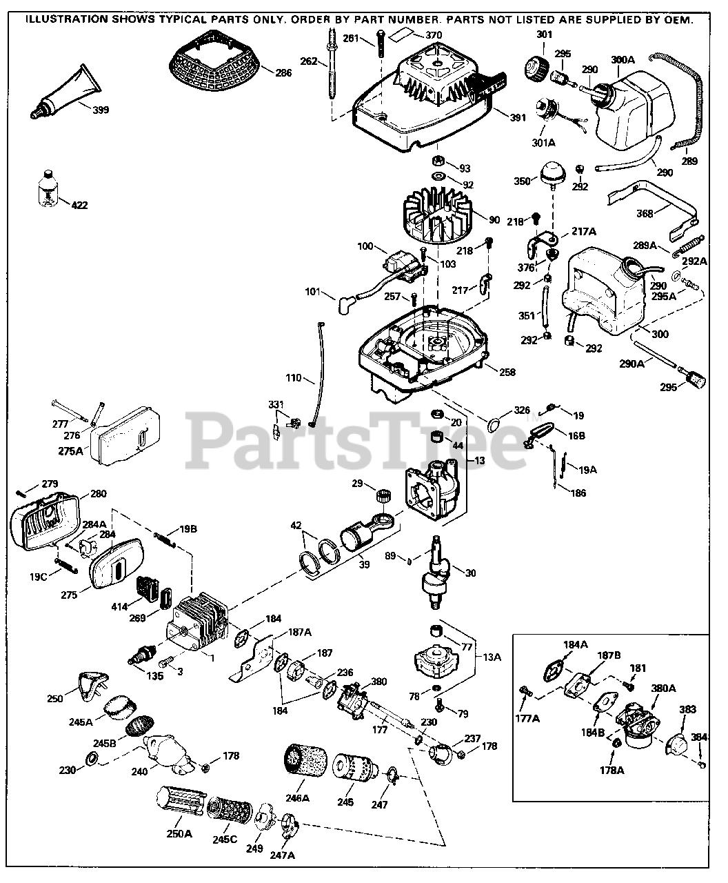 Tecumseh TC300-3004A - Tecumseh Engine Engine Parts List Parts Lookup with  Diagrams | PartsTreePartsTree