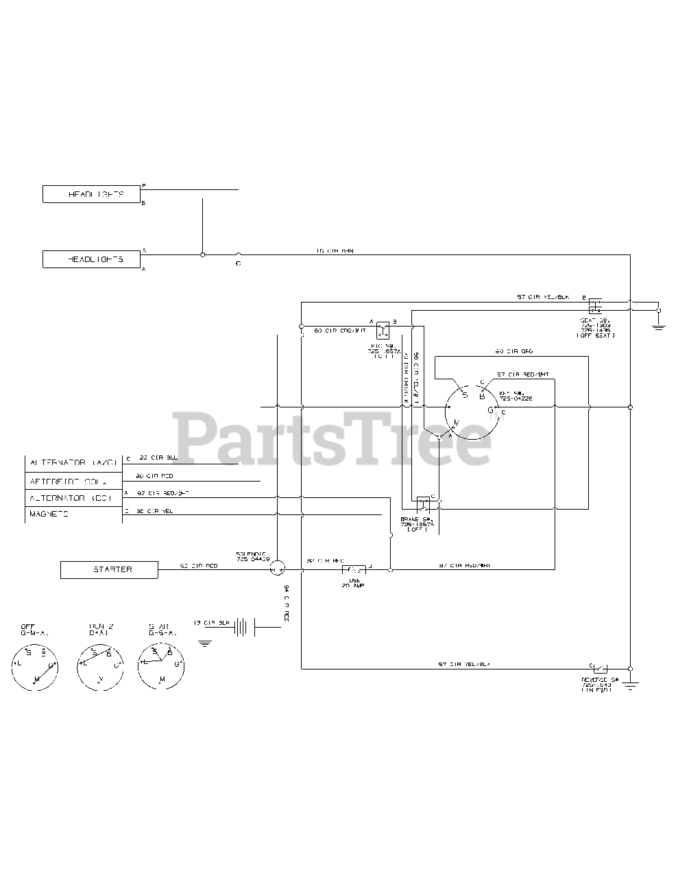 white tractor lt 13 wiring diagram huskee lt 4200  13w2775s231  huskee lawn tractor  2015  wiring  huskee lawn tractor