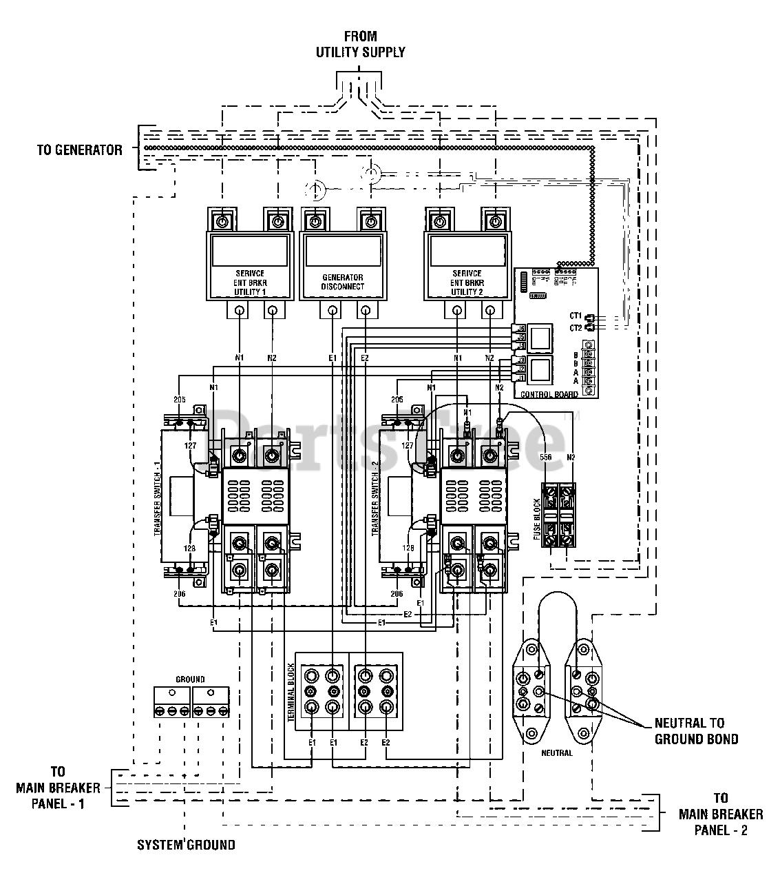 200 amp wire diagram briggs   stratton 071058 0 briggs   stratton dual 200 amp split  briggs   stratton dual 200 amp