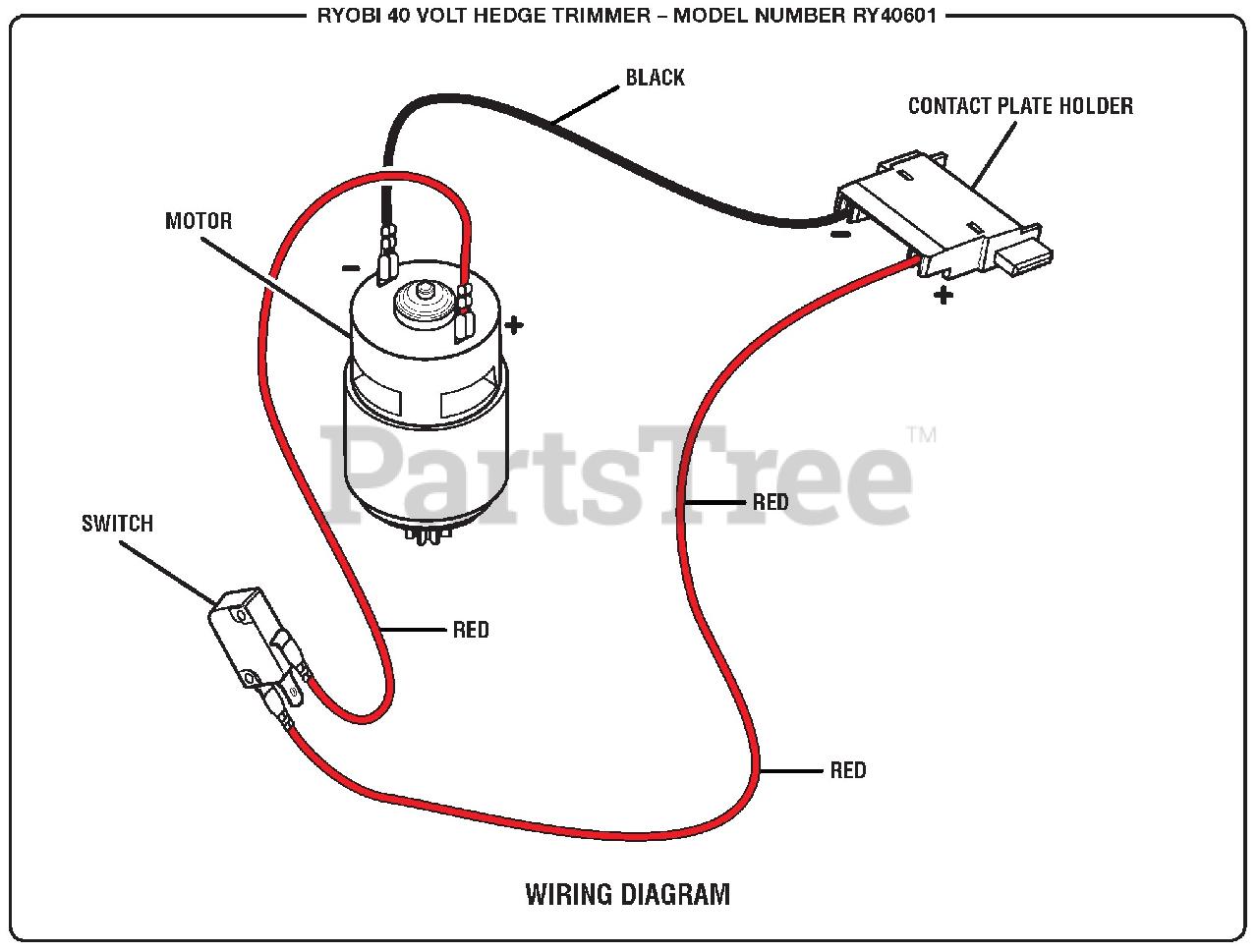 [DIAGRAM_38IU]  Ryobi RY 40601 - Ryobi Hedge Trimmer Wiring Diagram Parts Lookup with  Diagrams | PartsTree | Trimmer Wiring Diagram |  | PartsTree