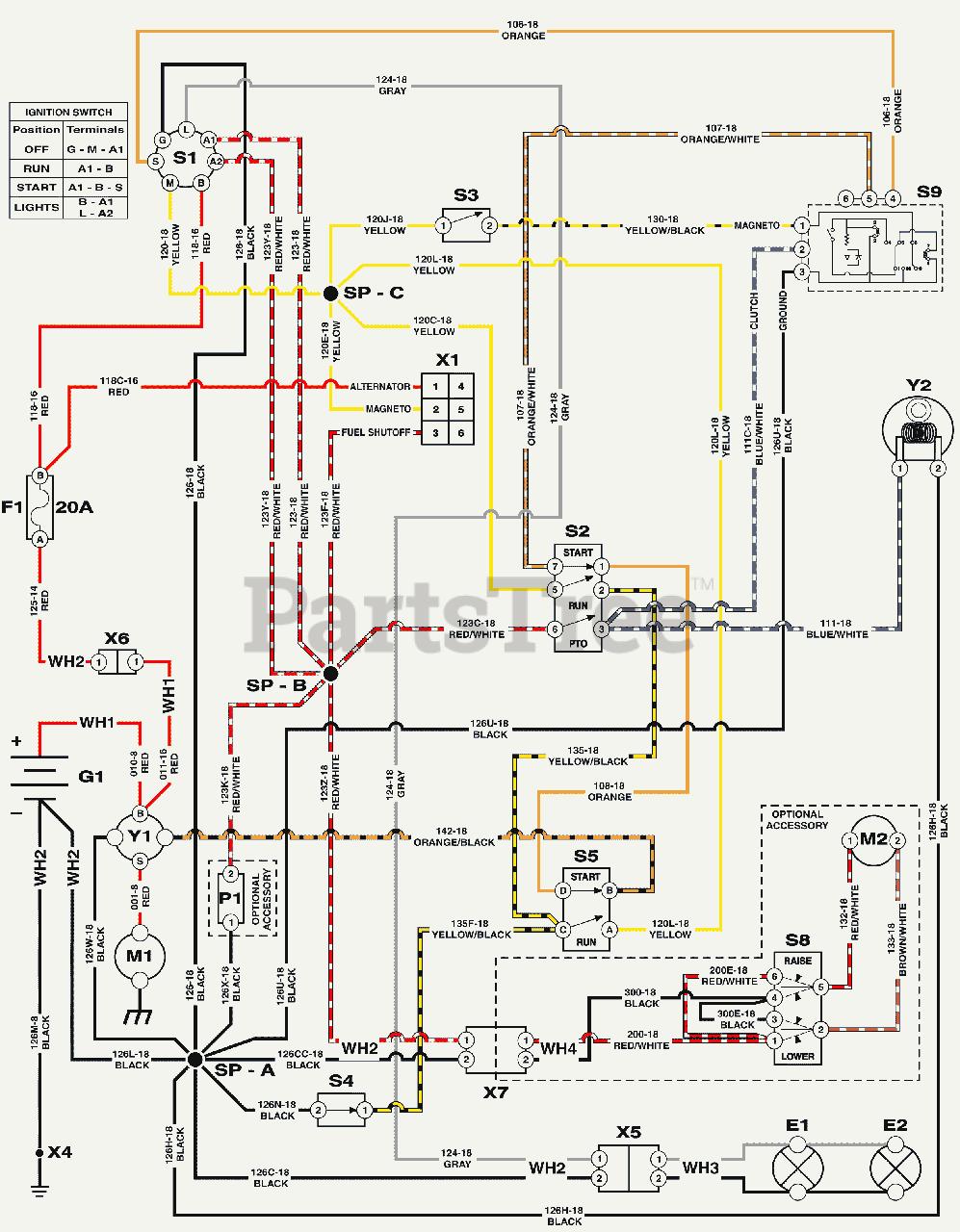 Simplicity Regent Lawn Tractor Wiring Diagram