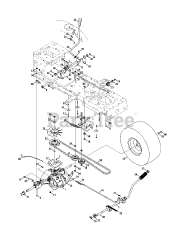 Troy-Bilt 13WX79KT011 - Troy-Bilt Horse XP Lawn Tractor