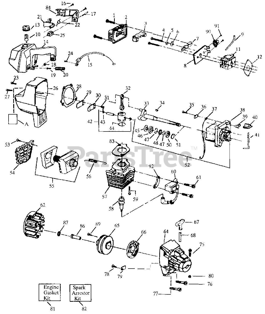 weed eater gti 17 le weed eater string trimmer engine assy weed eater head diagram weedeater engine diagram #11
