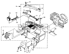 Homelite UT-10694-D - Homelite Super 2 XL Chainsaw Diagrams and