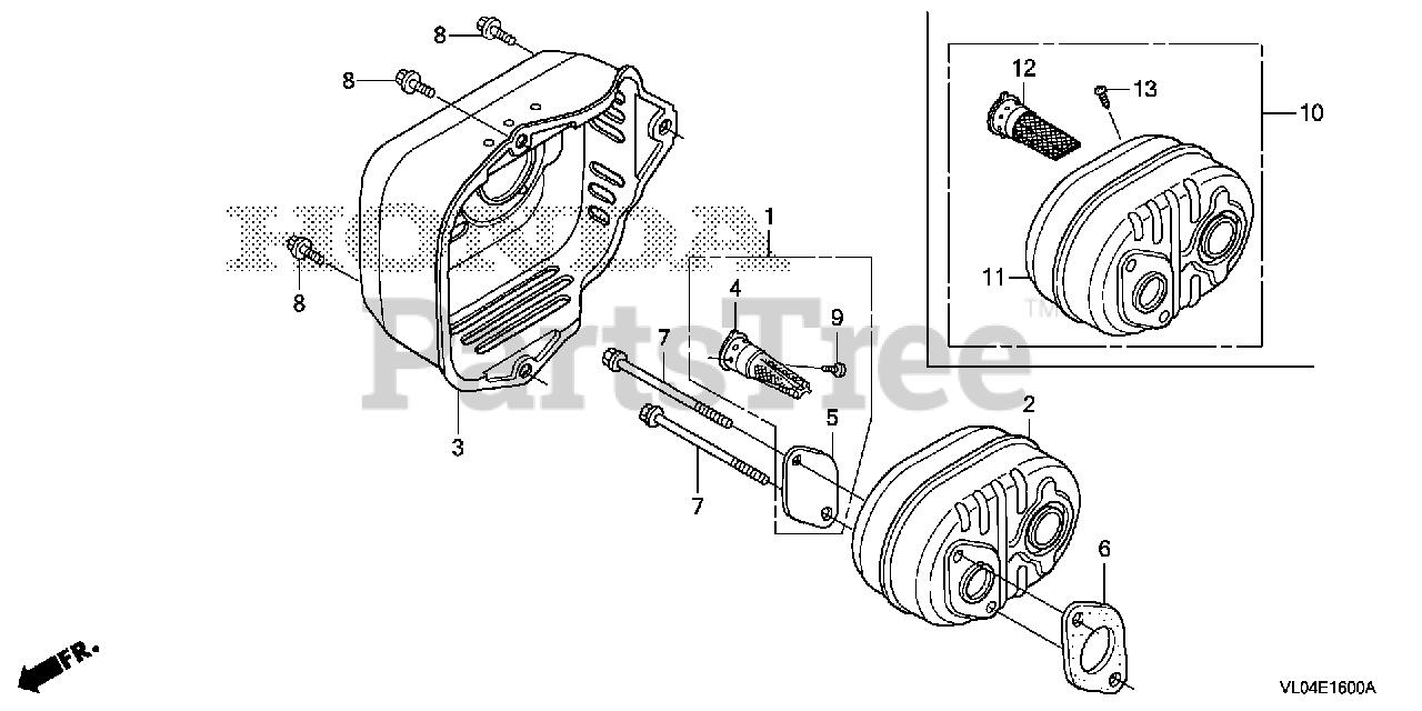Honda 06180-Z0J-000 Arrester Kit Spark