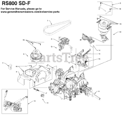 Ariens RS800-SD-F (21548408) - Ariens General Transmission Parts Lookup  with Diagrams | PartsTreePartsTree