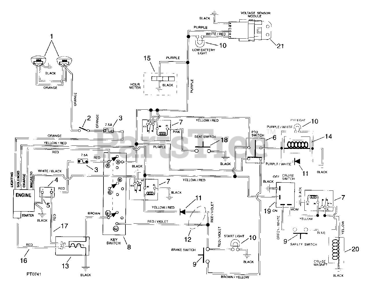 Ariens 936306 1440 H Ariens Sierra 40 Yard Tractor 14hp Briggs Stratton Hydro Sn 000301 Above Wiring Diagram 4 Parts Lookup With Diagrams Partstree
