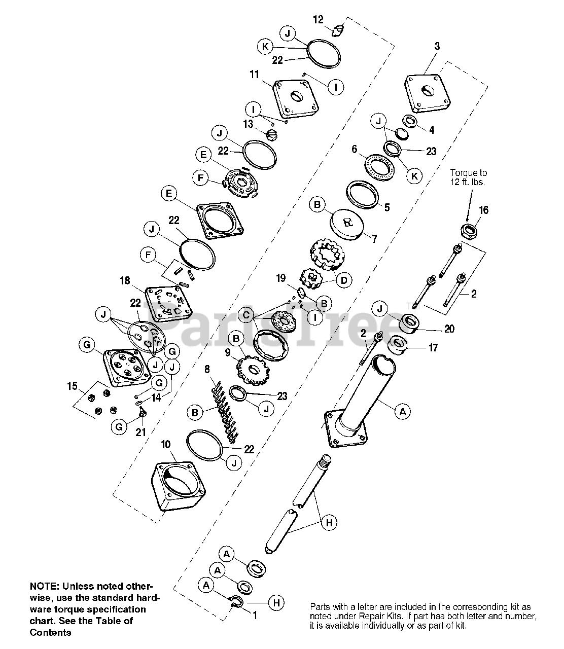 Massey Ferguson 2918 H 1692525 Massey Ferguson Garden Tractor 18hp Power Steering Unit Parts Lookup With Diagrams Partstree