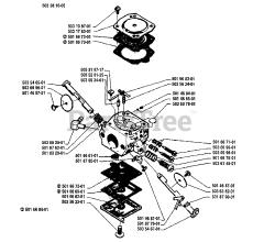 Husqvarna 262 - Husqvarna Chainsaw (1994-06) Diagrams and