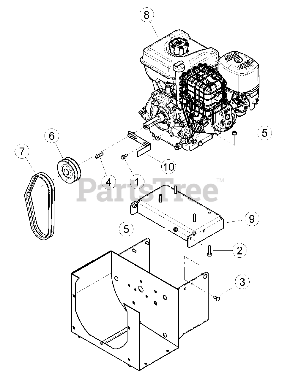 Bear Cat Sc 3420 Bear Cat 3 Chipper Shredder 420cc Briggs Stratton Sn G01443 Above Engine Parts Lookup With Diagrams Partstree