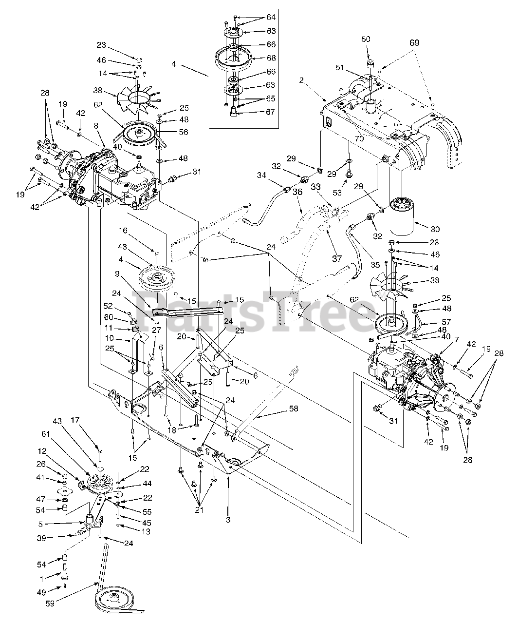 Cub Cadet 6 Prong Ignition Switch Wiring Diagram - Collection