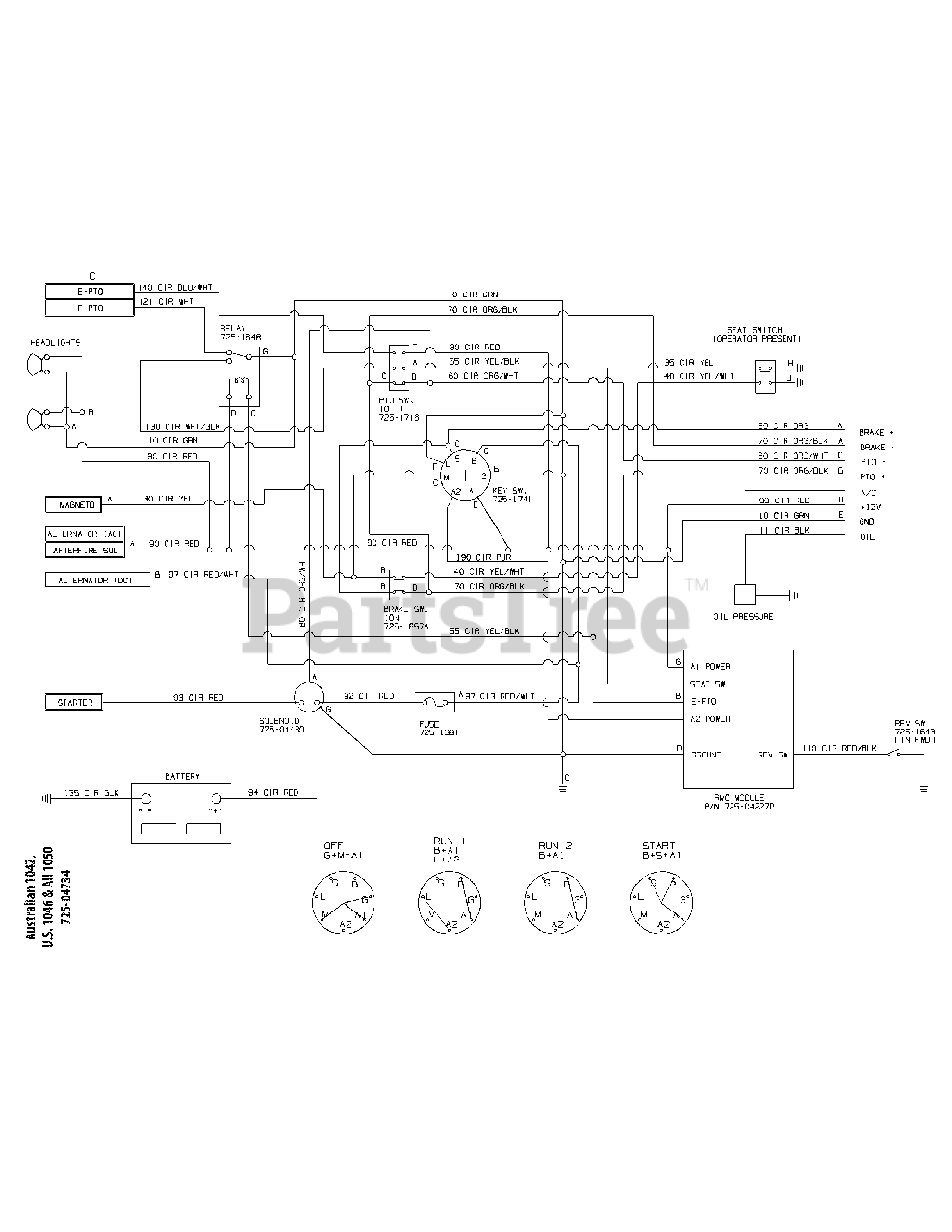 Diagram  Wiring Diagram For Cub Cadet Ltx 1050 Full