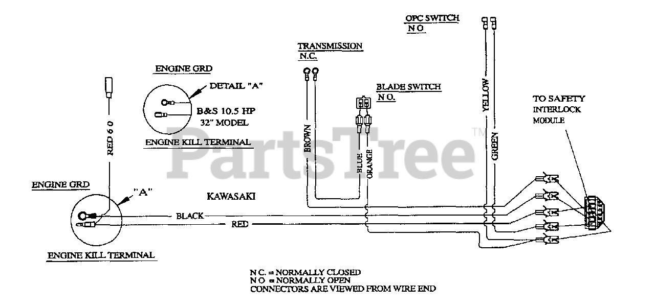 Exmark M3613kc Exmark 36 Metro Walk Behind Mower 13hp Kohler Sn 220000 259999 2000 Wiring Diagram 12 5 Kawasaki 10 5 Hp B S Parts Lookup With Diagrams Partstree