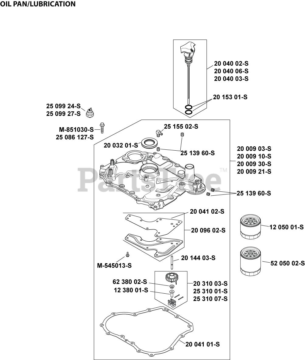 Kohler Sv600-0009  Lubrication