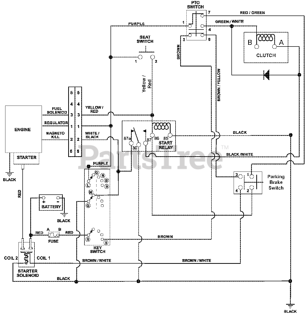 Briggs And Stratton Wiring Diagram 16 Hp - Wiring Diagram