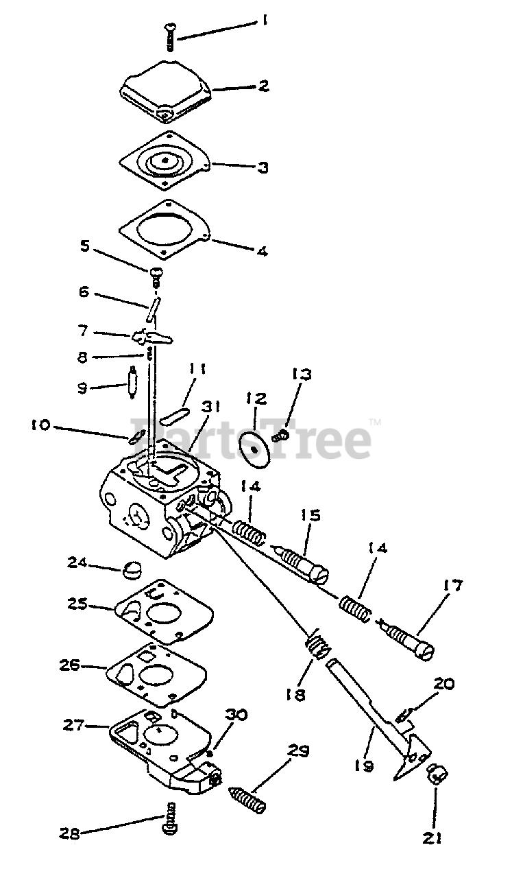 Little Wonder SV-4A - Little Wonder Engine Carburetor Parts Lookup with  Diagrams | PartsTreePartsTree