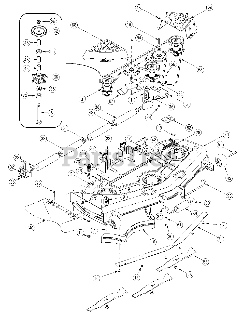 DIAGRAM] Cub Cadet Mowing Deck Diagram FULL Version HD Quality ...