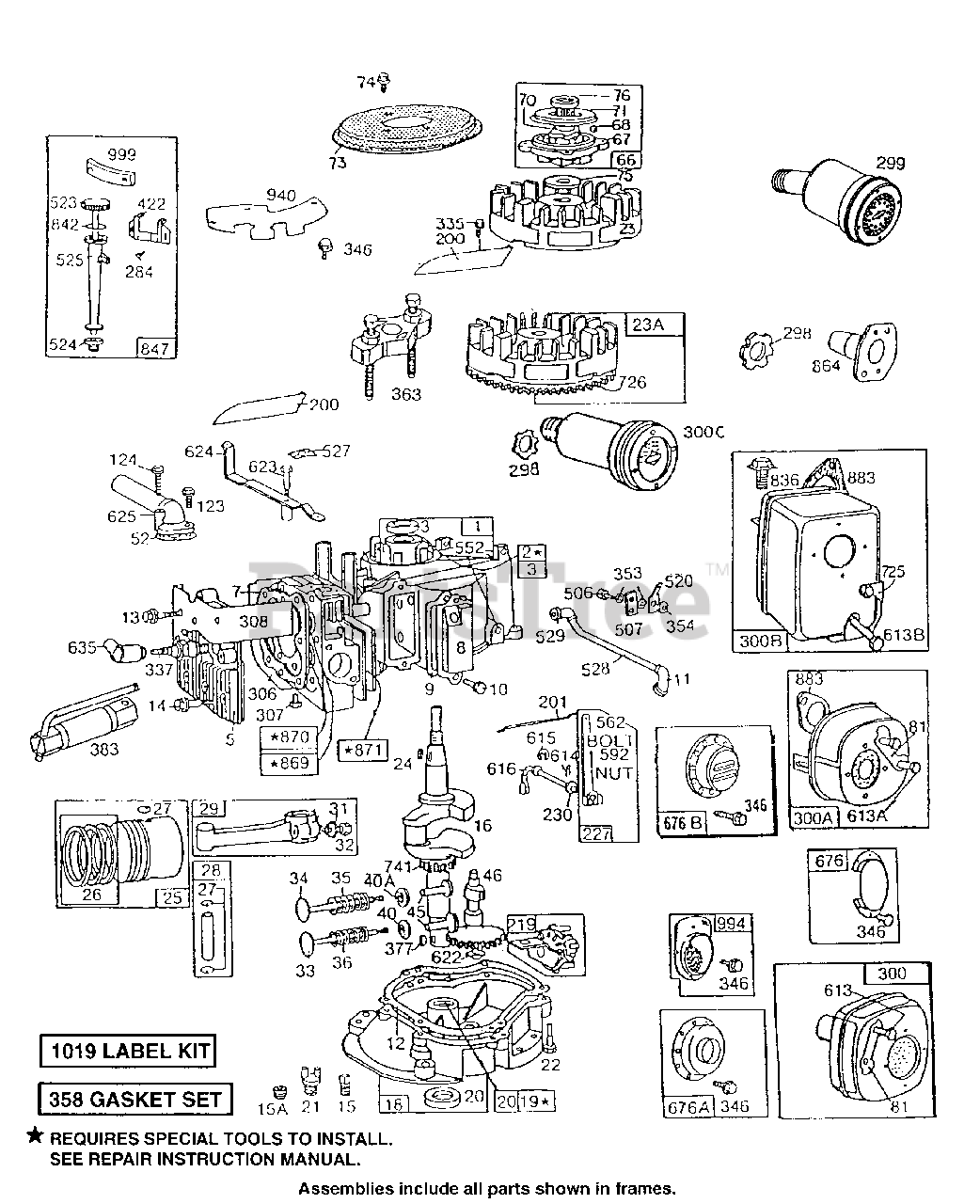 5 cyl engine diagram