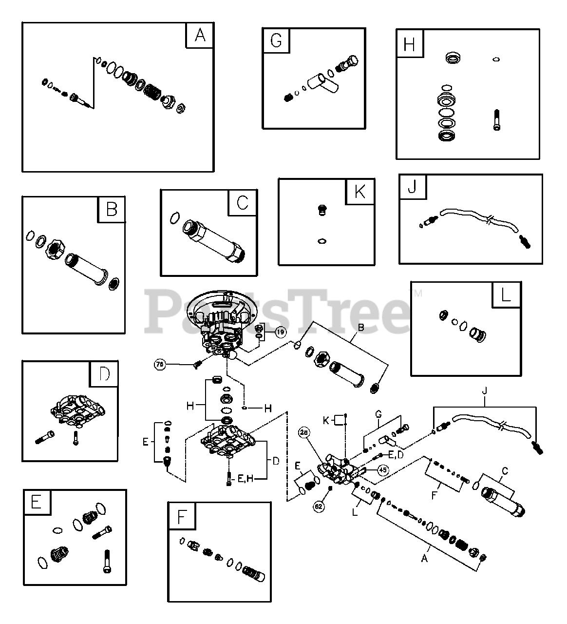 Troy-Bilt 020207-1 - Troy-Bilt 2,450 PSI Pressure Washer ...