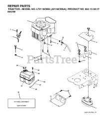 ISE/® sostituzione della cinghia di trasmissione per Jonsered LT 2317/Cma sostituisce Part Number 532441834