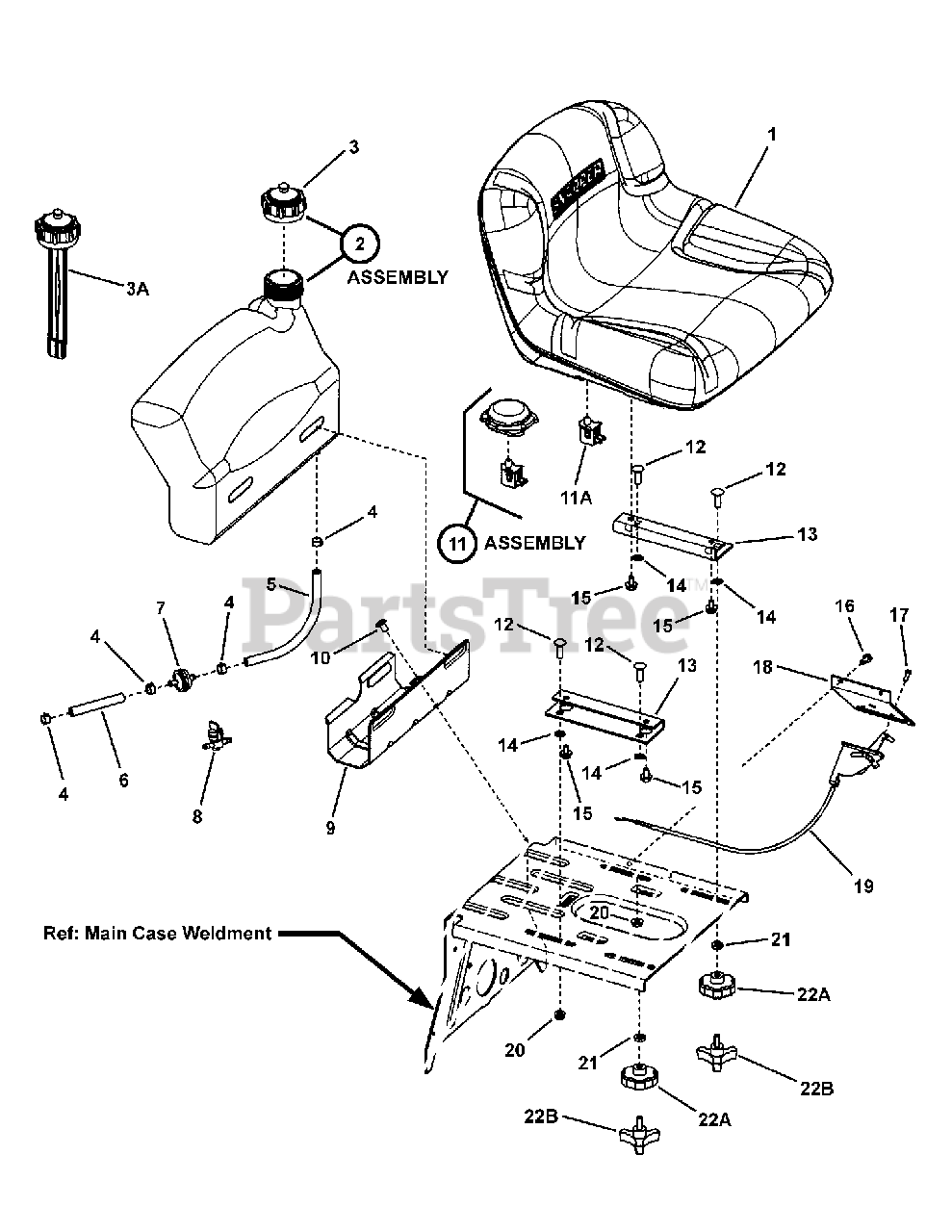 Fuel Pump Valve For 12HP Snapper 281223BVE Rider Mower