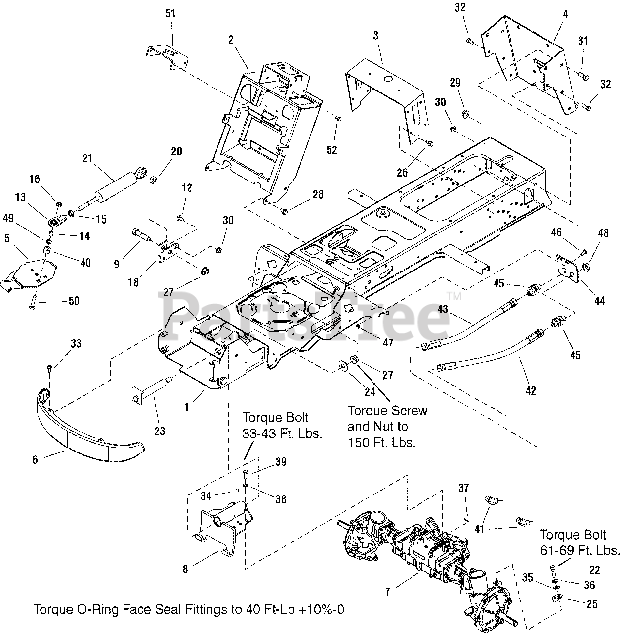 Simplicity CONQUEST 1733918ASM  BRACKET ASSEMBLY Steering 4WD