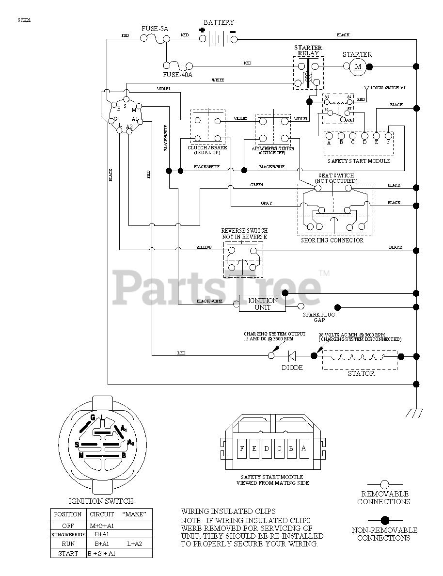 31 Lawn Mower Charging System Diagram