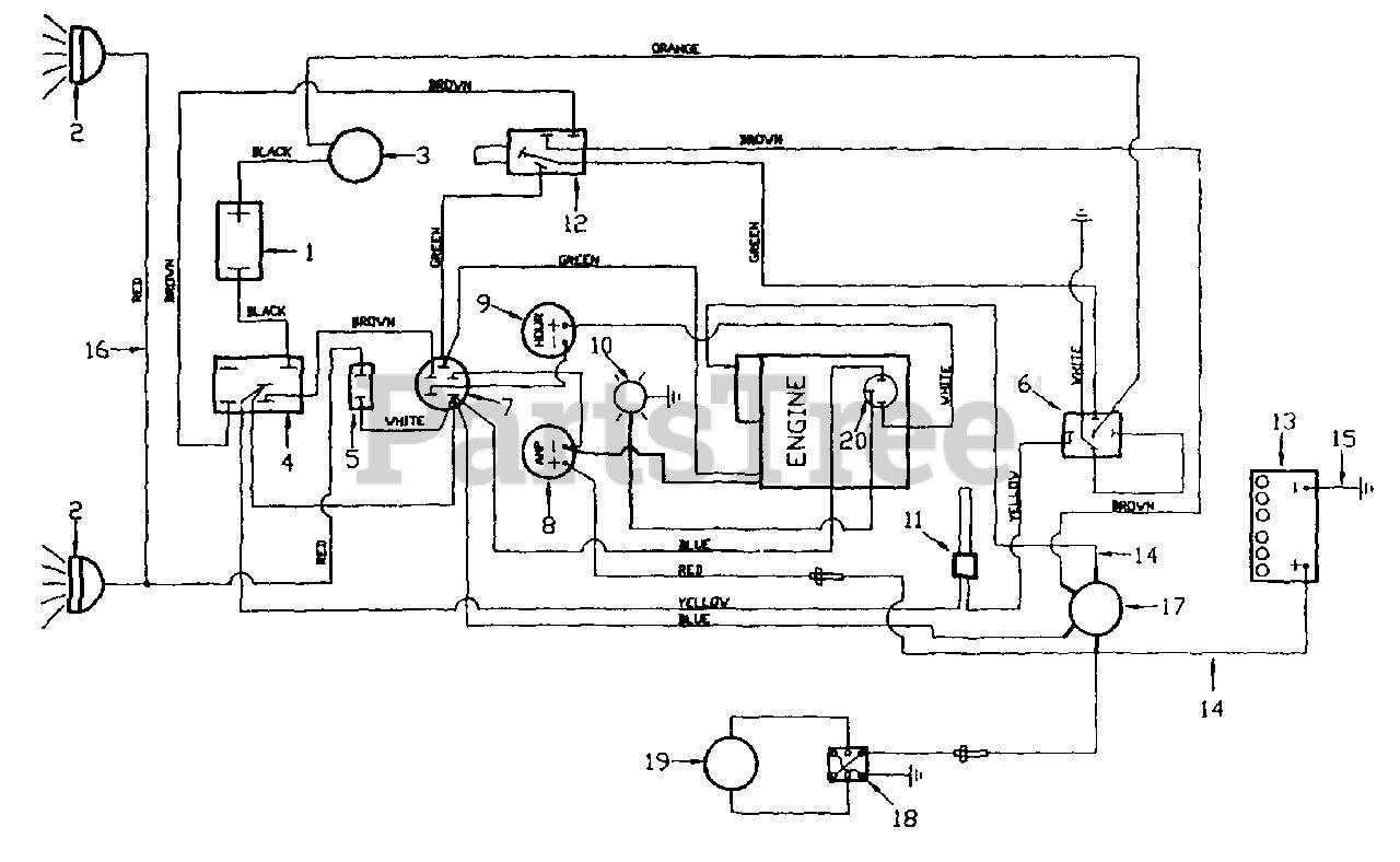 White Outdoor FR-12 (133-002-190) - White Outdoor Zero-Turn Mower (1993) Wiring  Diagram (Briggs & Stratton Engine) Parts Lookup with Diagrams   PartsTree   White Outdoor Wiring Diagram      PartsTree