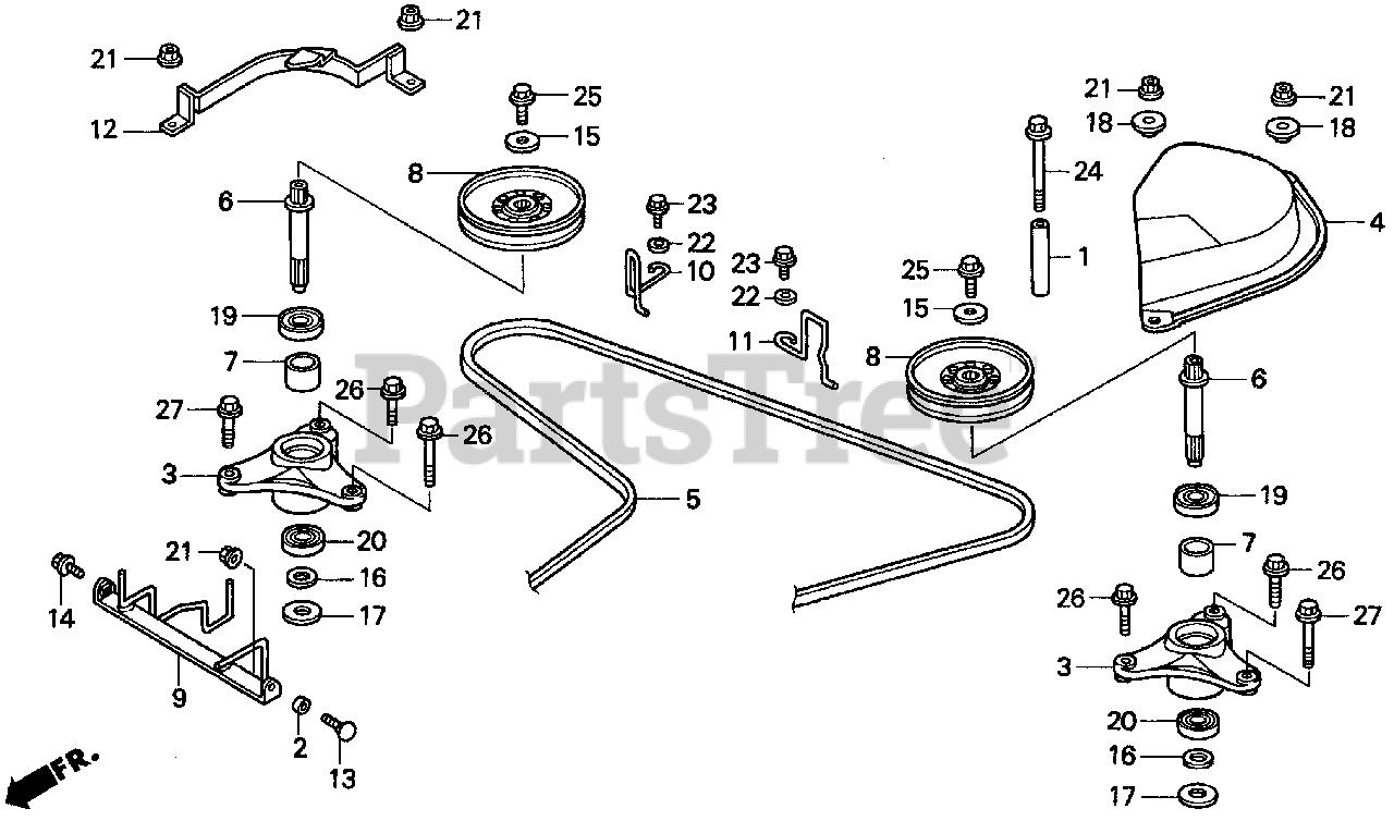 Seat Belt Warning Honda 76252-771-000 Stopper A Belt Replacement Parts
