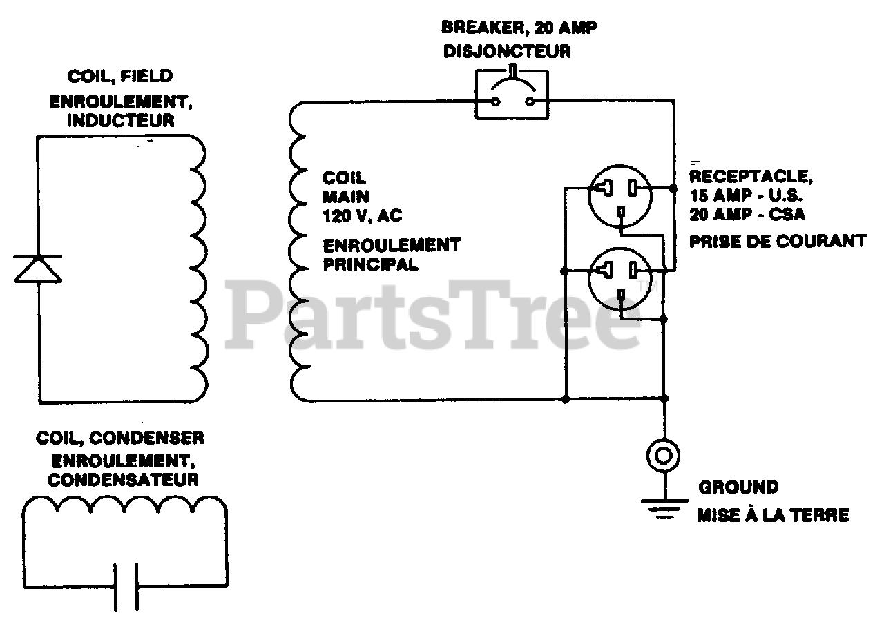 Homelite Eh 2500 Csa Ut 03646 Homelite Generator Wiring Diagram Parts Lookup With Diagrams Partstree