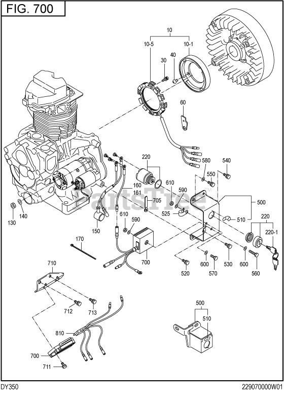 Subaru Robin DY350DS3210 (DY35) - Subaru Robin Engine, Diesel 700 Electric  Device Parts Lookup with Diagrams | PartsTreePartsTree