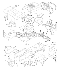 Husqvarna LTH 125 (954000782-A) - Husqvarna Lawn Tractor (1994-01) Parts  Lookup with Diagrams | PartsTreePartsTree