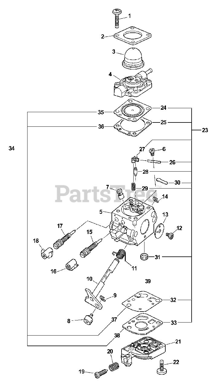 Little Wonder SV-5C - Little Wonder Engine (SN: 05001001 - 05999999)  Carburetor Parts Lookup with Diagrams | PartsTreePartsTree