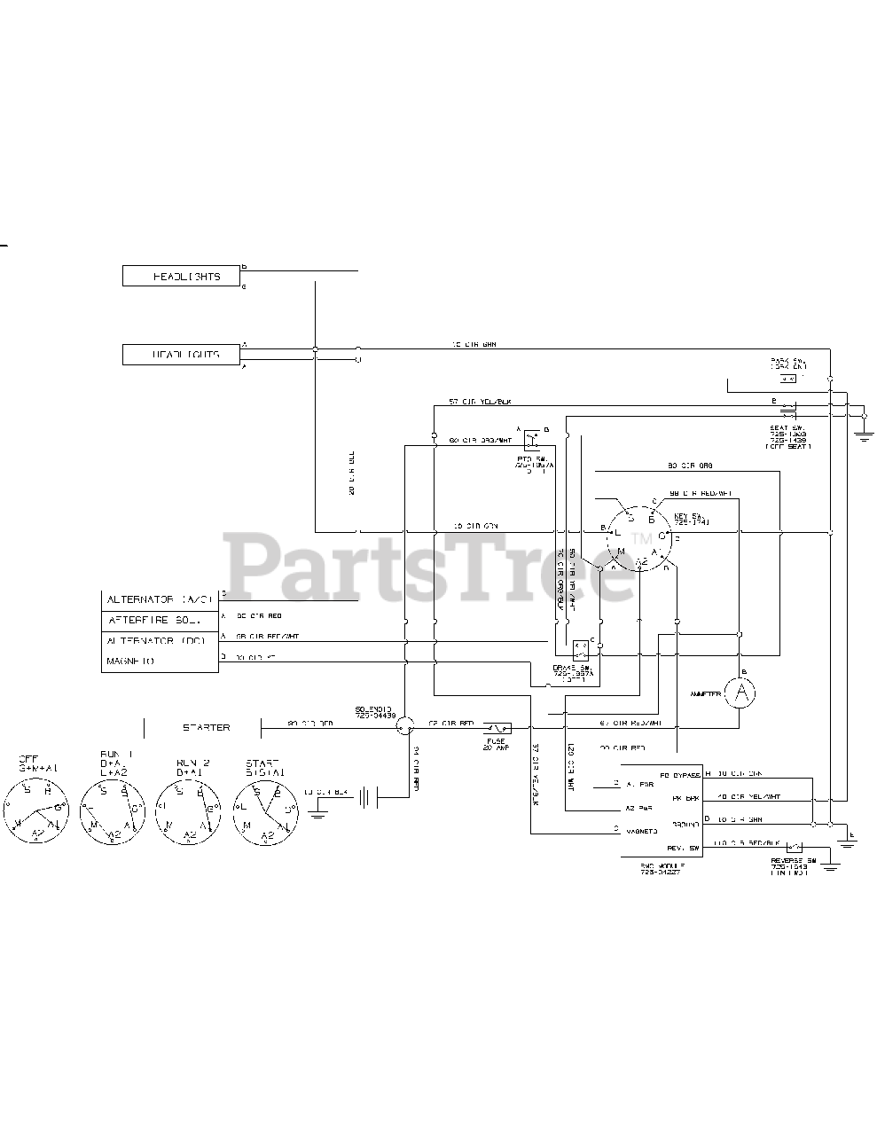 [DIAGRAM_5LK]  Troy-Bilt 13YX79KT211 - Troy-Bilt Horse XP Lawn Tractor (2015) Wiring  Harness Parts Lookup with Diagrams | PartsTree | Troy Bilt Horse Lawn Tractor Wiring Diagram |  | PartsTree