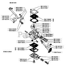 Husqvarna 51 - Husqvarna Chainsaw (1990-01) Diagrams and