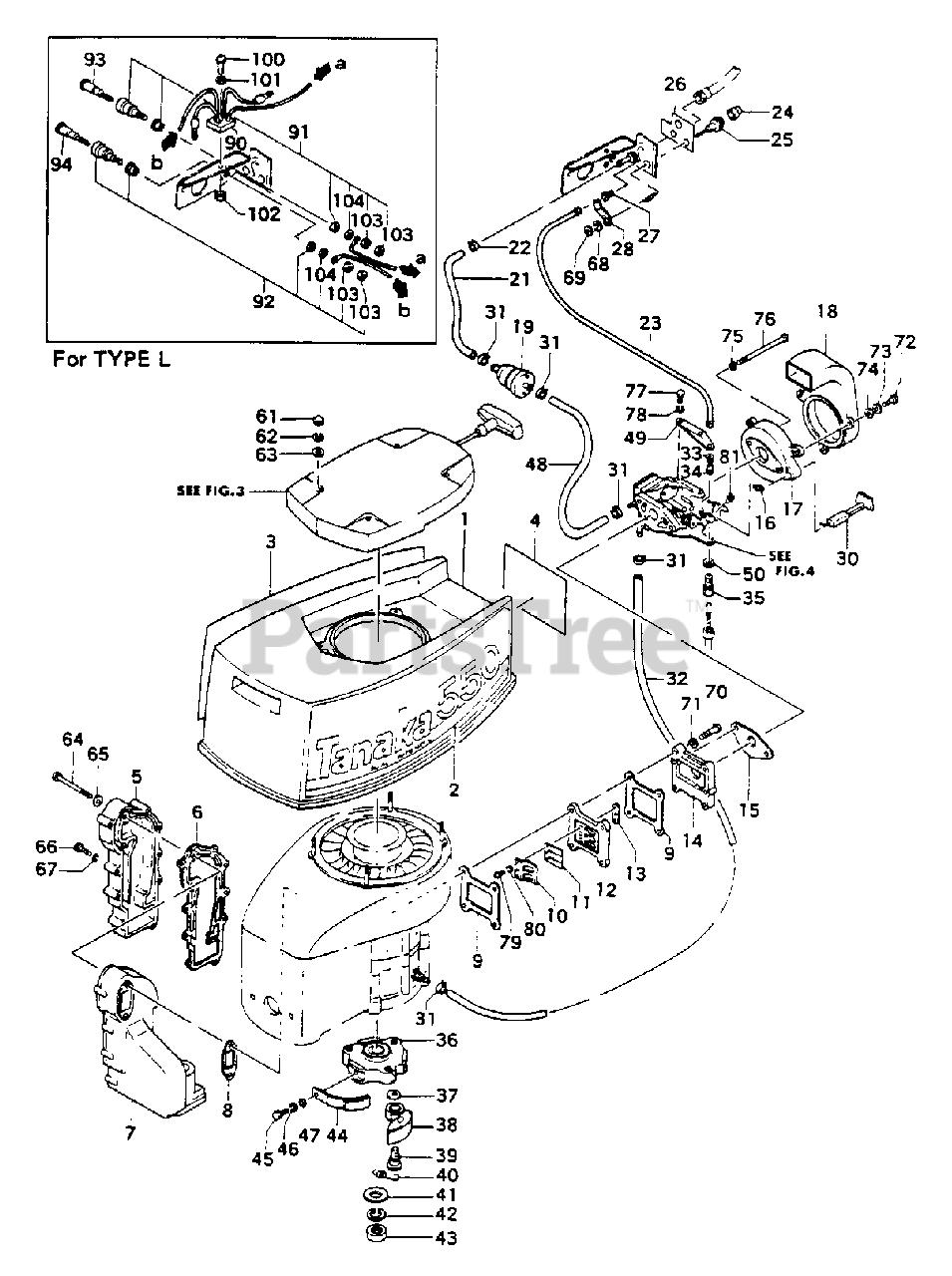 [SCHEMATICS_4JK]  Tanaka TOB-550 - Tanaka 5.5HP Outboard Engine Muffler, Clutch & Reed Valve  Parts Lookup with Diagrams   PartsTree   Outboard Engine Diagram Clutch      PartsTree