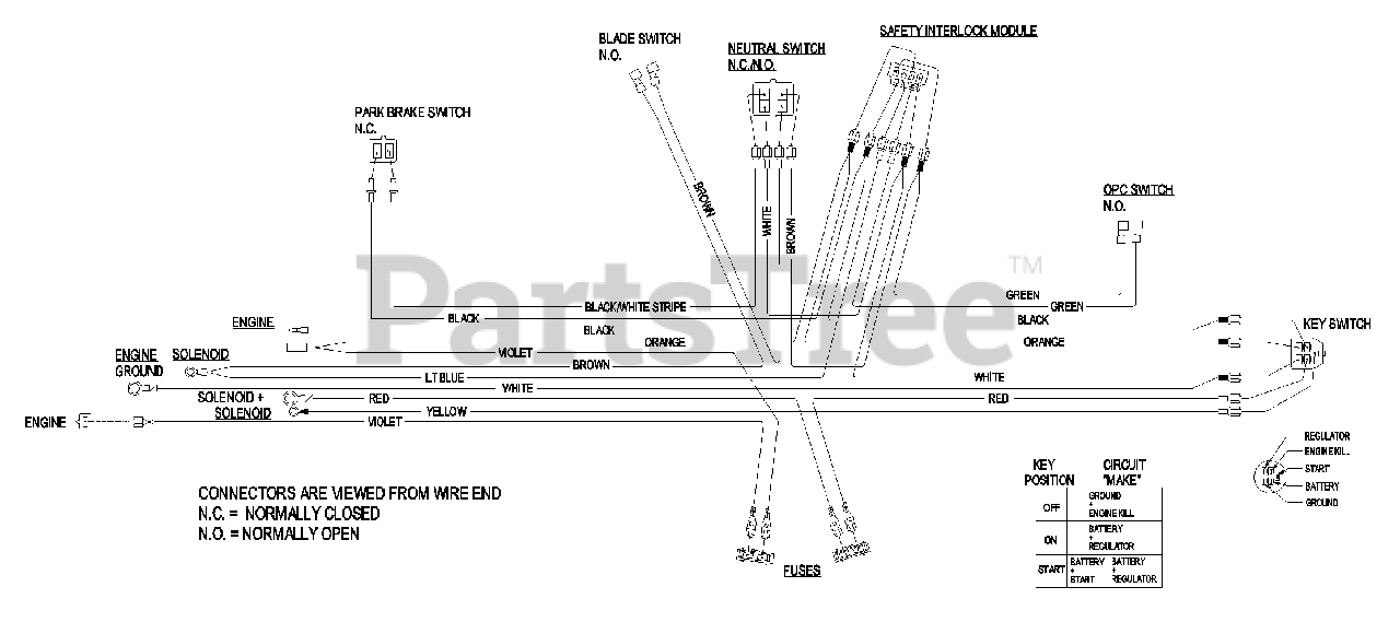 Exmark Turf Tracer Wiring Diagram from www.partstree.com