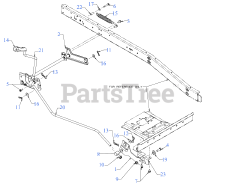 Craftsman CMXGRAM1130035 (13AC26JD093) - Craftsman R110 Rear