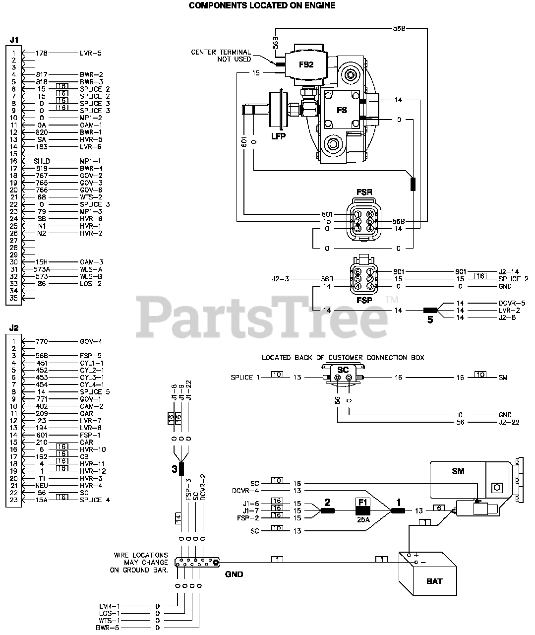 Generac ST03015GNSX - Generac 30kW Home Standby Generator (SN: 7143487 -  9152521) (2014) Wiring Diagram (0J4556) Parts Lookup with Diagrams |  PartsTree | Generac 30 Kw Wiring Diagram |  | PartsTree