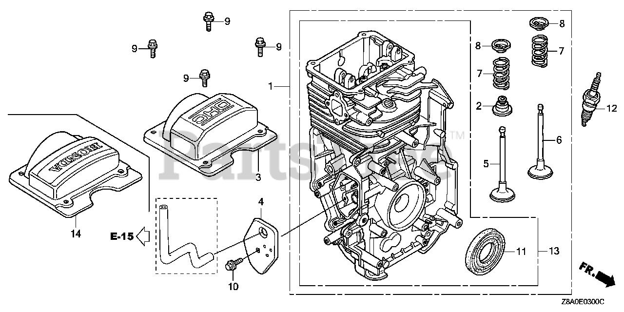 Honda Gc160 La Dhaf  Gcaha  - Honda Engine  Made In Usa  Sn  Gcaha-3599750