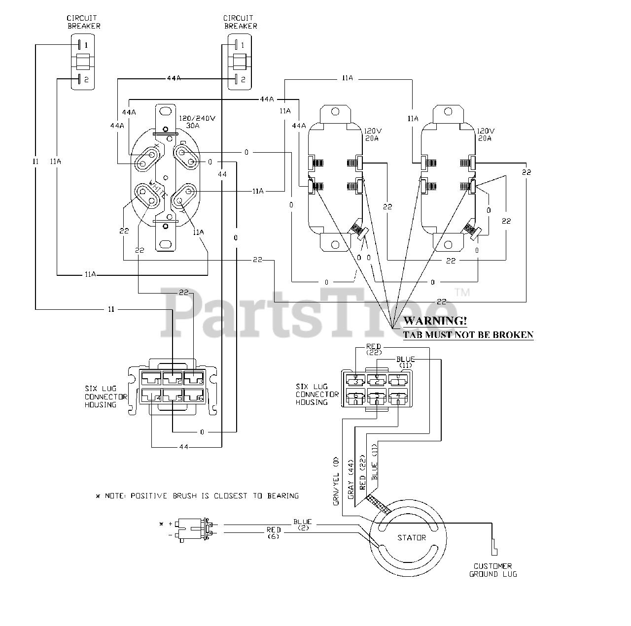 Powerboss 1642 1 Powerboss 5 500 Watt Portable Generator Wiring Diagram Parts Lookup With Diagrams Partstree