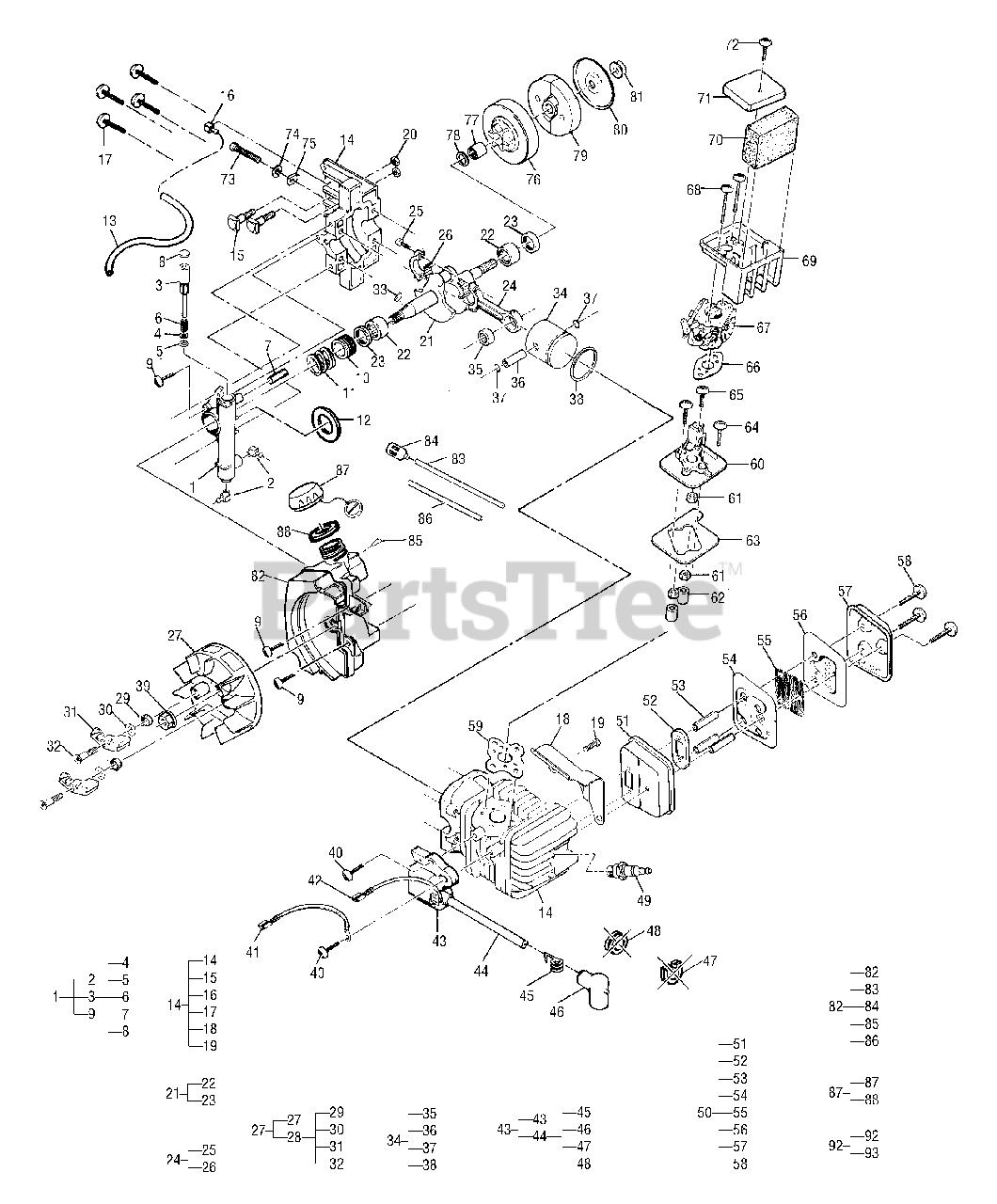 MCCULLOCH GM577614368 Espad/ín 18 3//8 1,5 mm 45 cm Est/ándar 68 eslabones