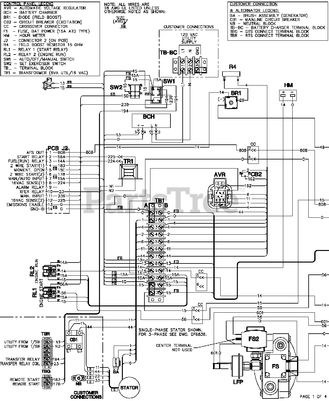 Generac Qt04842gnan - Generac 48kw Home Standby Generator  Sn  5449154