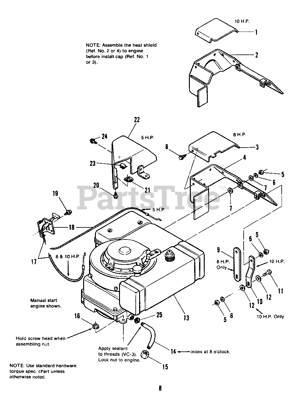 Simplicity 3110 (1690528) - Simplicity Rear-Engine Riding Mower Engine  Drive Group - Engine Section Parts Lookup with Diagrams | PartsTree | Group Engine Diagram |  | PartsTree