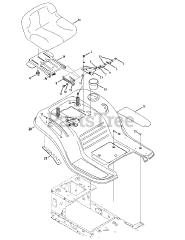 Craftsman 247 203700 (13A277XS099) - Craftsman T1000 Lawn