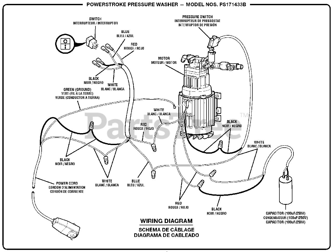 Washer Wiring Diagram