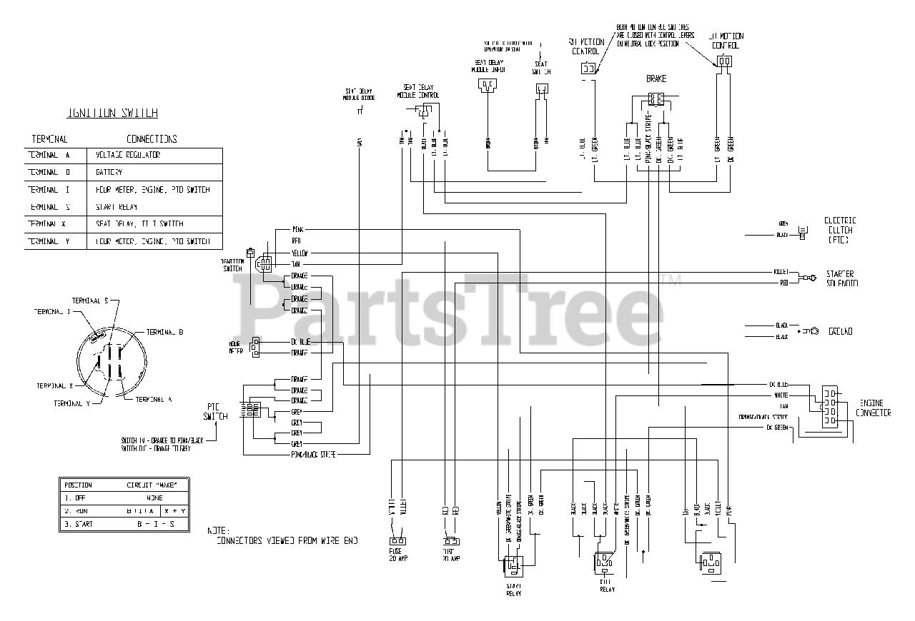 Exmark Lz31bv604 Exmark 60 Lazer Z Zero Turn Mower 31hp Briggs Stratton Sn 540000 599999 2005 Electrical Diagram Parts Lookup With Diagrams Partstree